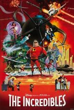 Incredibles The Movie Poster 24in x 36in