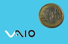 Sony VAIO metalissed chrome effect STICKER ADESIVO LOGO 28x7mm [332]