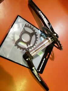 Race Face Turbine 1X Crankset 175mm w/ new 28T & used 30T, 30mm spindle, Cinch