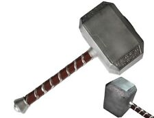 "Thor Hammer 17""  Avangers Prop Marvel  Cosplay Real Model Base The Dark Toy Gift"