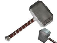"Thor Hammer 17""  Avangers Prop Marvel  Cosplay Real Model Base The Dark Toy Gift"