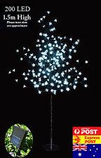200 LED 1.5M White Cherry Blossom Solar Christmas Outdoor Tree