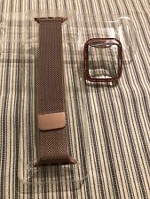 Stainless Steel Mesh Band and Bumper for Apple Watch 38mm