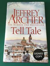 Tell Tale by Jeffrey Archer Brand New Hardback, 2017 Signed Copy Free UK Postage