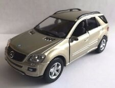 "Kinsmart Mercedes Benz ML 350 SUV class 5"" diecast model 1:36 scale Champagne"
