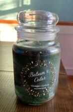 Yankee Candle 1062314Z Balsam Cedar Jar Candle - Green