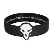 Authentic OVERWATCH Reaper Silicone Rubber Bracelet NEW