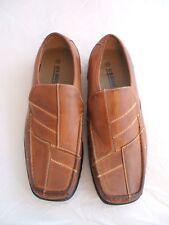 Nos latón Chepstow Rey Zapatos De Hombre Slip On Marrón Talla 13