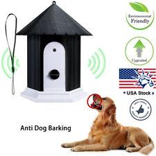 Outdoor Pet Dog Silencer Ultrasonic Bark Control Device Stop Barking Anti Bark
