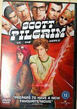 Scott Pilgrim vs The World DVD 2010 Teen Gamer Gaming Cult Comedy Film Movie