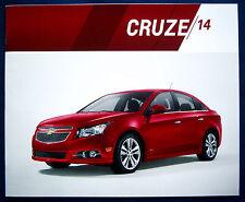 Prospekt brochure 2014 Chevrolet Chevy Cruze (USA)