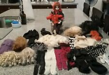 New listing Bjd 1/3 Luna Doll + 5 wigs + lots of clothes 1 pair shoes + costume all included