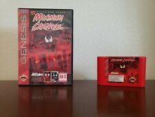 Spider-Man Maximum Carnage (Sega Genesis, 1994) RARE RED CART FREE FAST SHIPPING