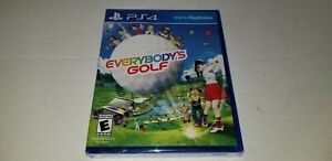 Everybody's Golf Sony PlayStation 4 PS4 Brand New Factory Sealed