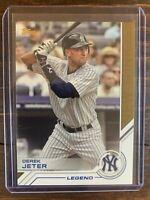 Derek Jeter Baseball Card #S-200 Topps Legends MLB HOF New York Yankees MINT SP