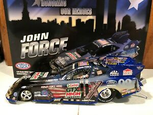 2011 Action John Force Honoring Our Heroes NHRA Funny Car 1/24 1 of 1638