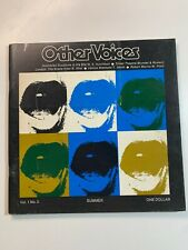 Vintage Catalogue - Other Voices Australian Sculpture 1960
