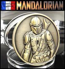 1 Pièce Médaille Bronze sous capsule ! ( Bronze Coin ) - The Mandalorian