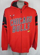 Chicago Bulls Men's 2XL Full Zip Hooded Sweatshirt NBA