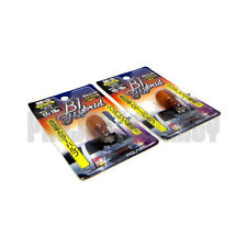 Polarg M5 Bl Hybrid 168 Amber Light Bulbs Lightbulbs Pair M-5 JDM