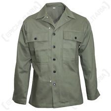 More details for american hbt jacket - ww2 us army military repro herringbone twill new repro