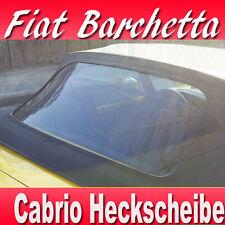 Fiat Barchetta Convertible Rear Windscreen with Zipper Year 1995 - 2005 Top