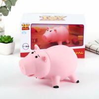 "7"" Toy Story Hamm Figure Coin Save Money Box Piggy Bank Pink Ham Pig Kid Gift"