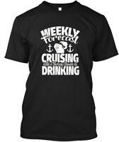 Funny To Wear On Cruise Forecast C - Weekly Cruising Hanes Tagless Tee T-Shirt