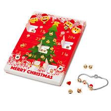 Emoji Joyería Calendario de Adviento de Navidad + 8x impresionante Aretes Regalo Presente Navidad