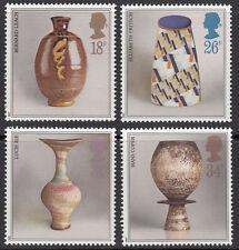 GB MNH STAMP SET 1987 Studio Pottery SG 1371-1374 UMM