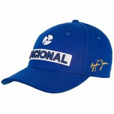 Ayrton Senna Blue Nacional Kids Baseball Hat