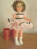 SPECIAL SHIRLEY TEMPLE 15 INCH DOLL IDEAL 1957