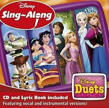 Walt Disney Duets Sing Along - CD & Booklet - NEW & SEALED  frozen ,tangled  etc