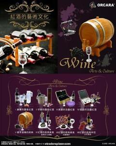ORCARA Worldwide VINTAGE Wine Culture Miniature re-ment size Full set