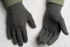 Wild Fable Touchscreen Compatible Cotton Grey Winter Gloves (One Size) 2-Pair