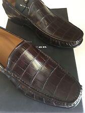 Kiton Men's Alligator/Crocodile Loafer Shoes Size 9 US Retail $8,095.00 Best!