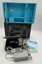 Nintendo Wii Black Video Game Console PAL TESTED COMPLETE BOXED