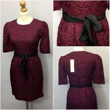 Regular Size Dresses for Women with Belt Sheath Dresses