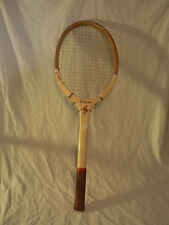 New listing WILSON Vintage Scout Wooden Tennis Racquet Racket
