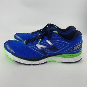 New Balance Mens 880 V7 Running Shoes M880BW7 Blue Green Black 11.5 D