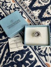 NEW • Touchstone Crystal SPOTLIGHT ROUND RING • Size 6 • Item 3693RF