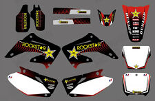 TEAM GRAPHICS DECALS FOR HONDA CR125 CR250 2002 03 04 05 06 07 08 09 10 11 12 D9