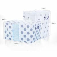 Foldable Storage Bag Clothes Blanket Quilt Closet Sweater Organizer Boxes Bags