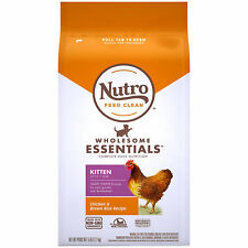 Nutro Wholesome Essentials Natural Chicken & Brown Rice Recipe Dry Kitten Food,