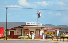 HO Scale Buildings - 9723 - 1950's style US Gas Station - kit