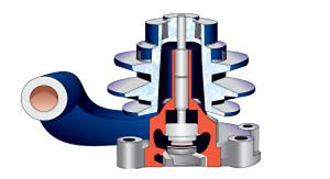 Water Pump Assembly Escort JCB RB-44/66 Perkins 1000 Engine 48173400 / 4131E012