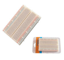 1Pc New Mini 85*55mm Universal  99 UK Breadboard 400 Contacts Tie-points
