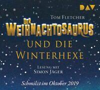 TOM FLETCHER - DER WEIHNACHTOSAURUS UND DIE WINTERHEXE (TEIL 2)  4 CD NEU