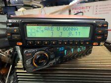Old school Sony MDX-400 in-dash AM/FM 4 Minidisc rare hard to fine