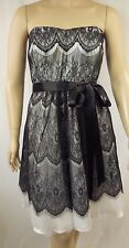 City Chic Ivory Strapless Lace Bradshaw Cocktail Dress Plus Size M 18 BNWT #P88